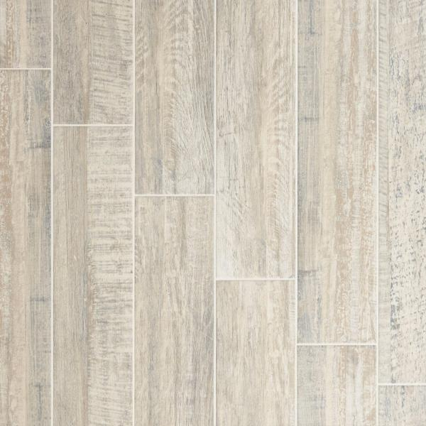 Wood Look Tile   Floor   Decor Pier White Wood Plank Porcelain Tile