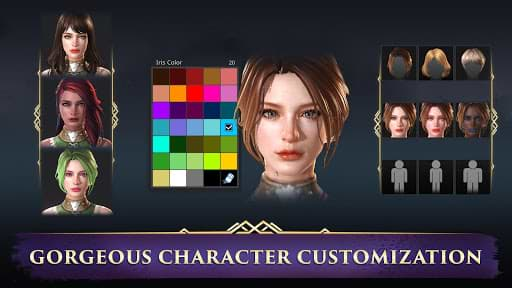 Customize chracters