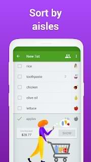 Grocery Shopping List Unlocked APK