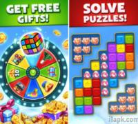 Solve puzzle with Toy Blast game