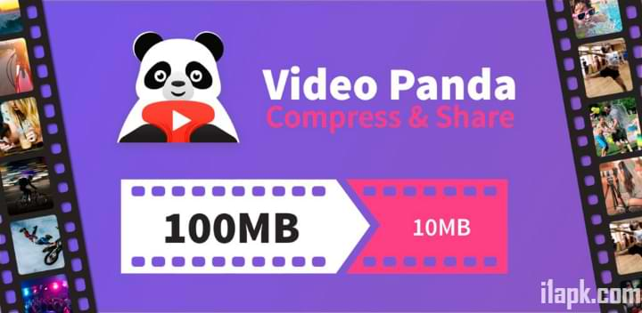 Panda Video Compressing app for Android