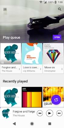 Xperia Music for Any Android