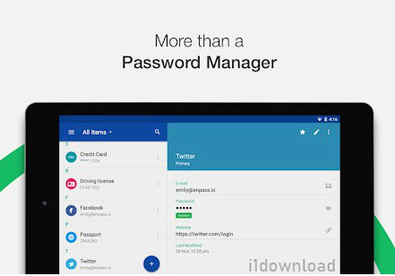 Android Enpass Password Manager Pro