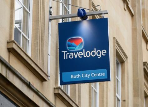Mr James is facing the prospect of paying hotel giants Travelodge a £115 victim surcharge