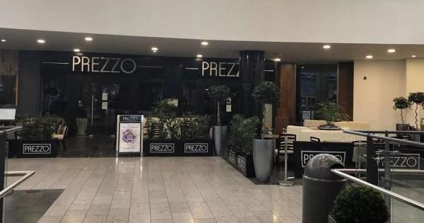 Prezzo restaurants in Belfast set to close - Belfast Live