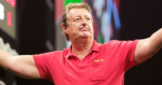 Image result for eric bristow funeral