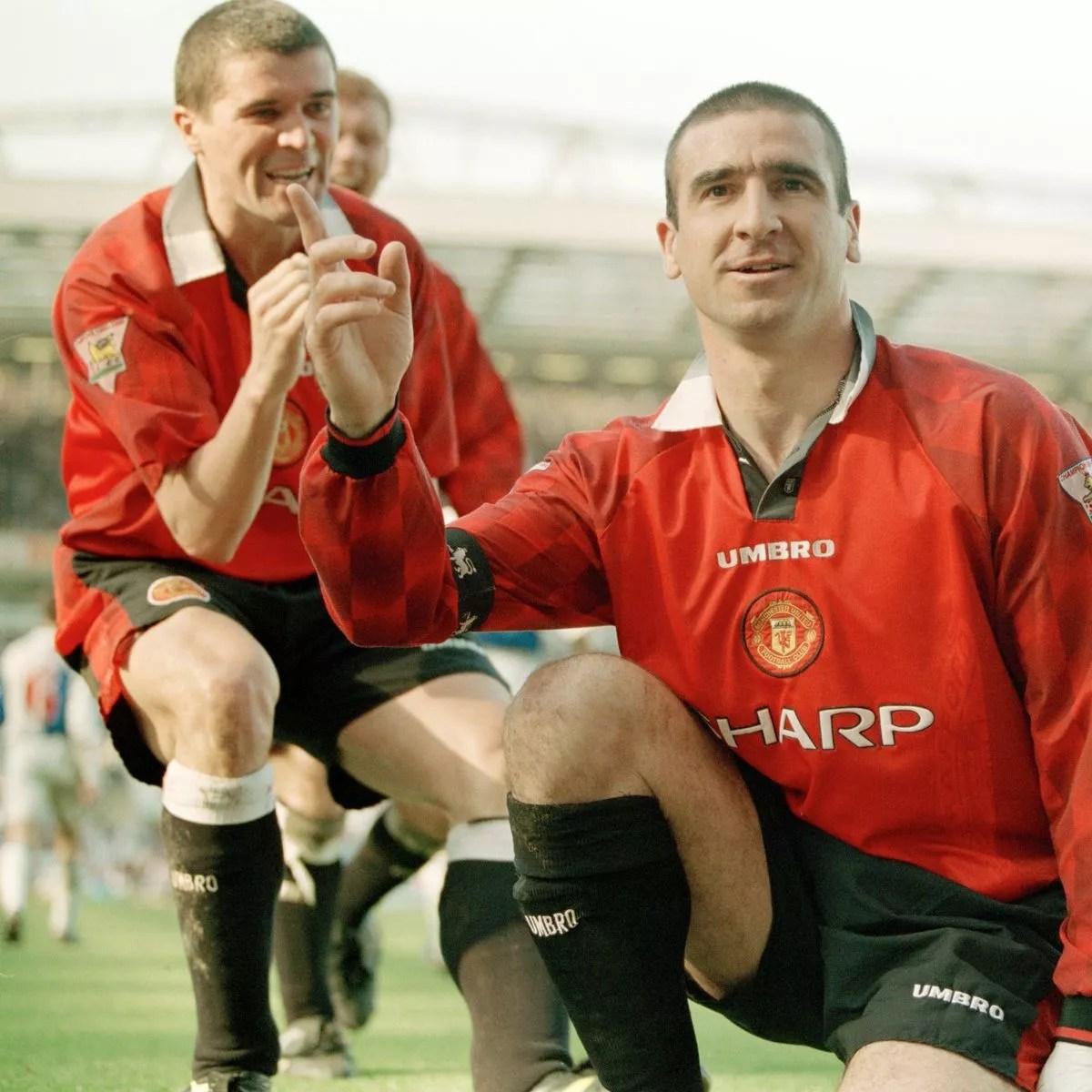 Manchester united eric cantona 7 black away shirt. Why Man Utd Icon Eric Cantona Was Sir Alex Ferguson S Greatest Ever Signing Belfast Live