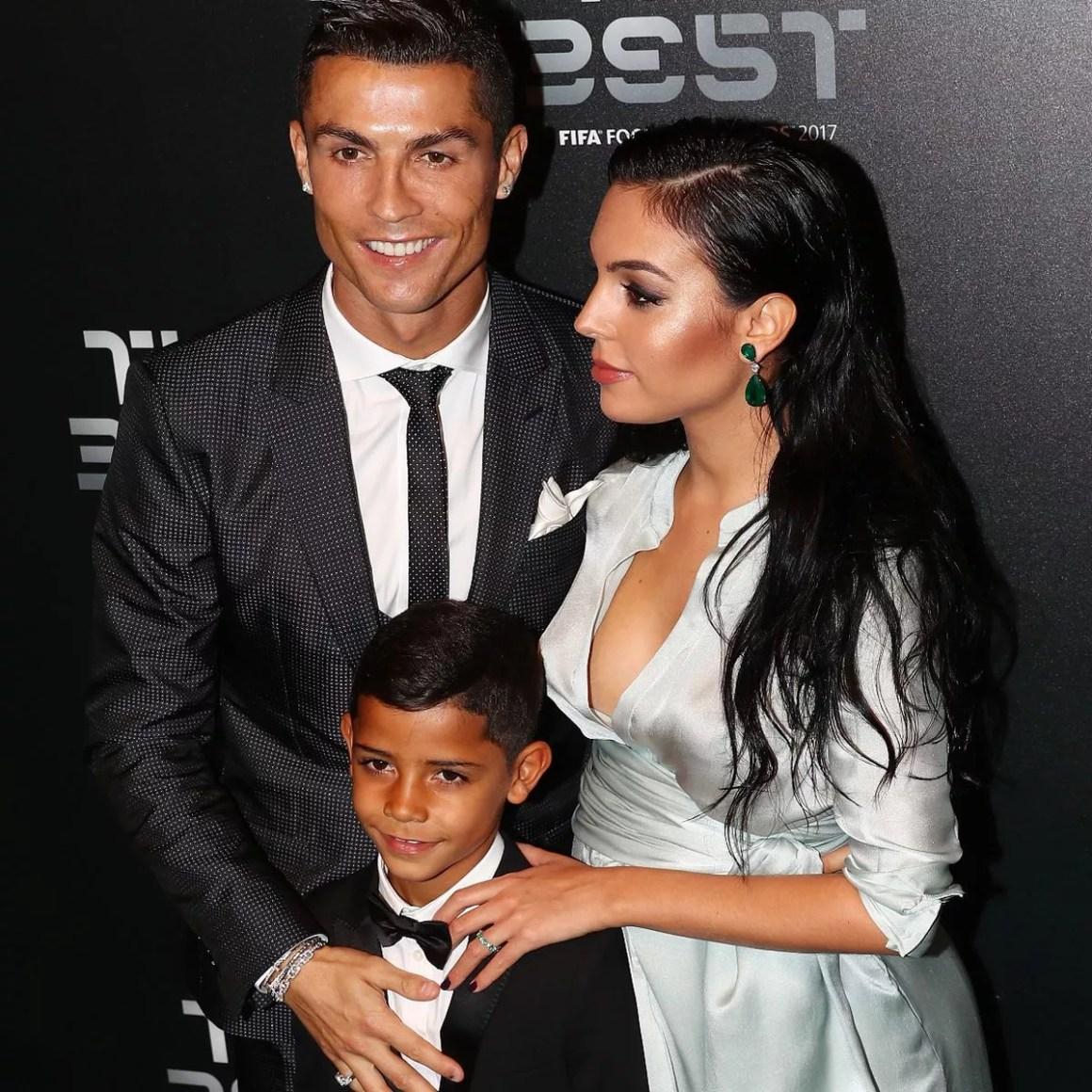 Cristiano Ronaldo and Georgina Rodriguez reveal name of fourth ...