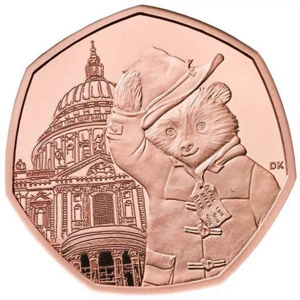 paddington bear 50p coins # 55