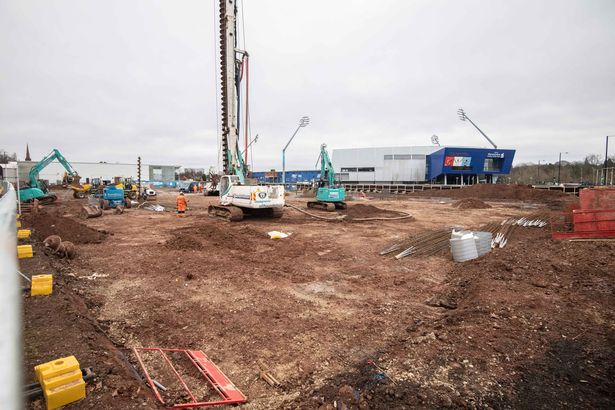 Land next to Edgbaston Stadium that will become a 375 'build to rent' apartment complex with an 18-storey tower as well as leisure, retail and residential car park facilities