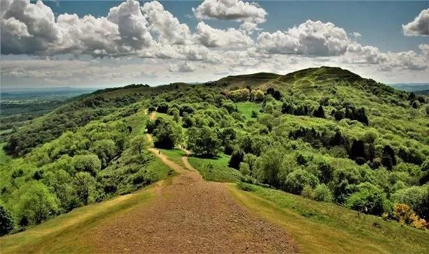 A walk in the Malvern Hills