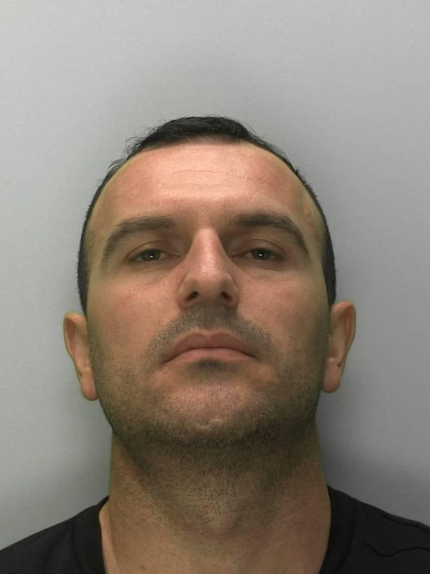 Dashnor Pali 34, and of Highfield Road, Tipton, Birmingham, was sentenced to seven years and four months for his part in an UK-wide drugs gang.