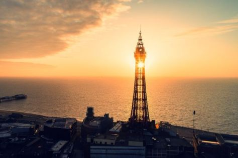 There are pubs a short distance from the Pleasure Beach and seafront in Blackpool