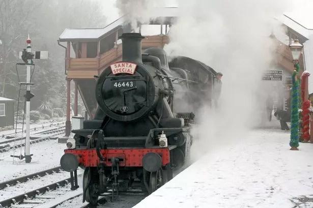 Christmas Cracker Express Christmas Carol Trains And