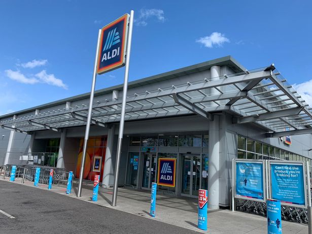 The Aldi agency in Clevedon