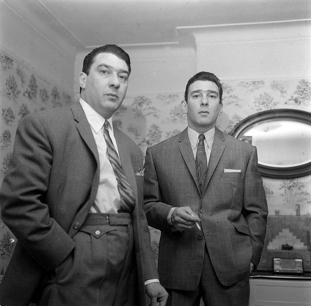 Unseen Reggie Kray Picture Revealed In Consett Writers