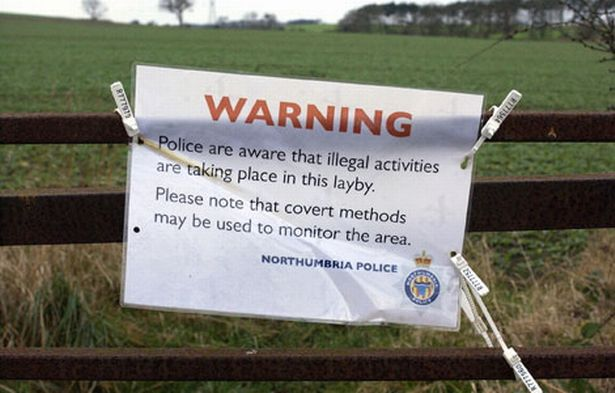 Seedy Strangers Are Using Sites Near To Some Of The Norths Top Tourist Spots To Go Dogging