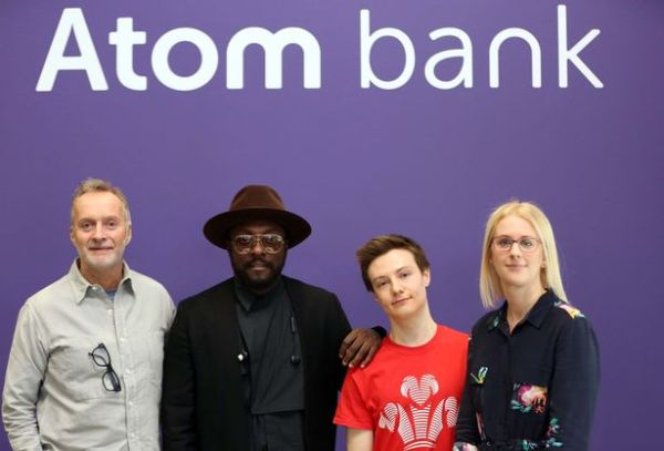 How Will.i.am is inspiring Atom Bank's quest to transform ...