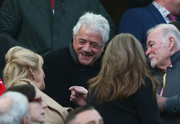 Kevin Keegan at Anfield for the Boxing Day clash between Liverpool and Newcastle