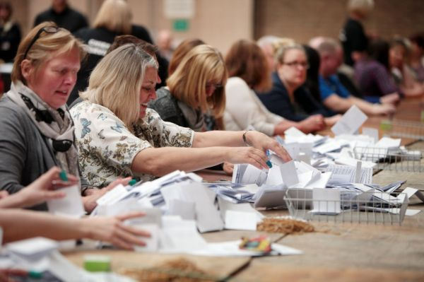 General Election 2015: Votes are counted across the North ...