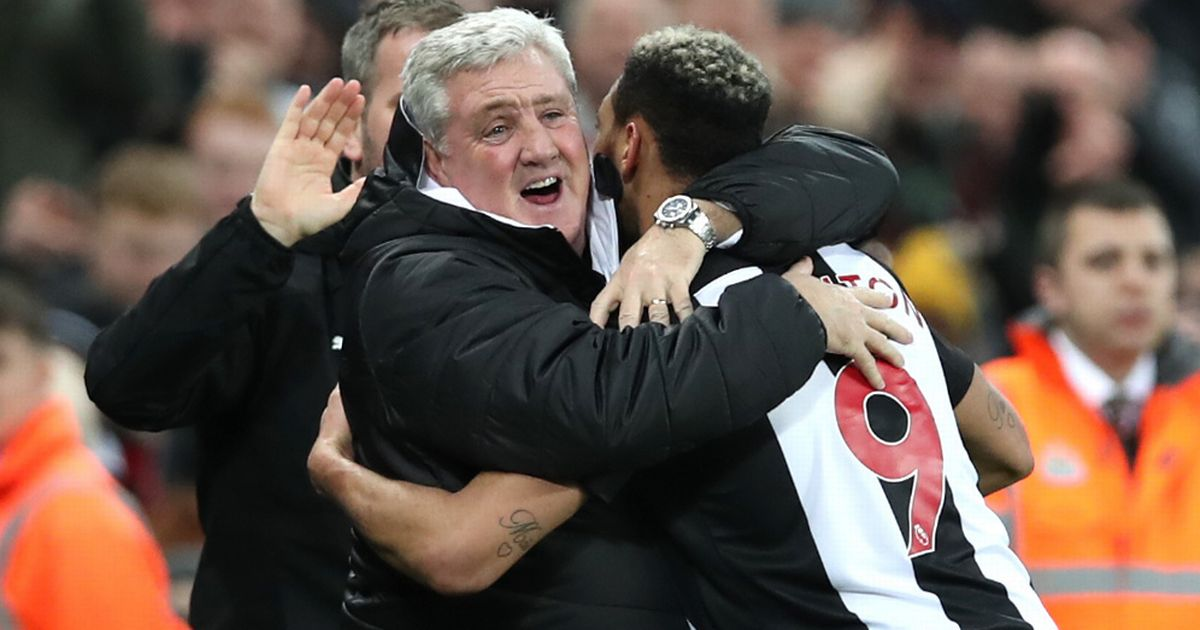 Steve Bruce admits he is seeing a different Joelinton after the striker ended his drought goal this week