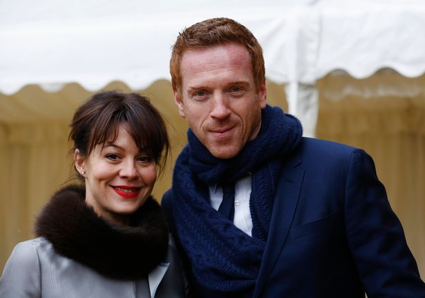 Helen McCrory and her husband Damian Lewis