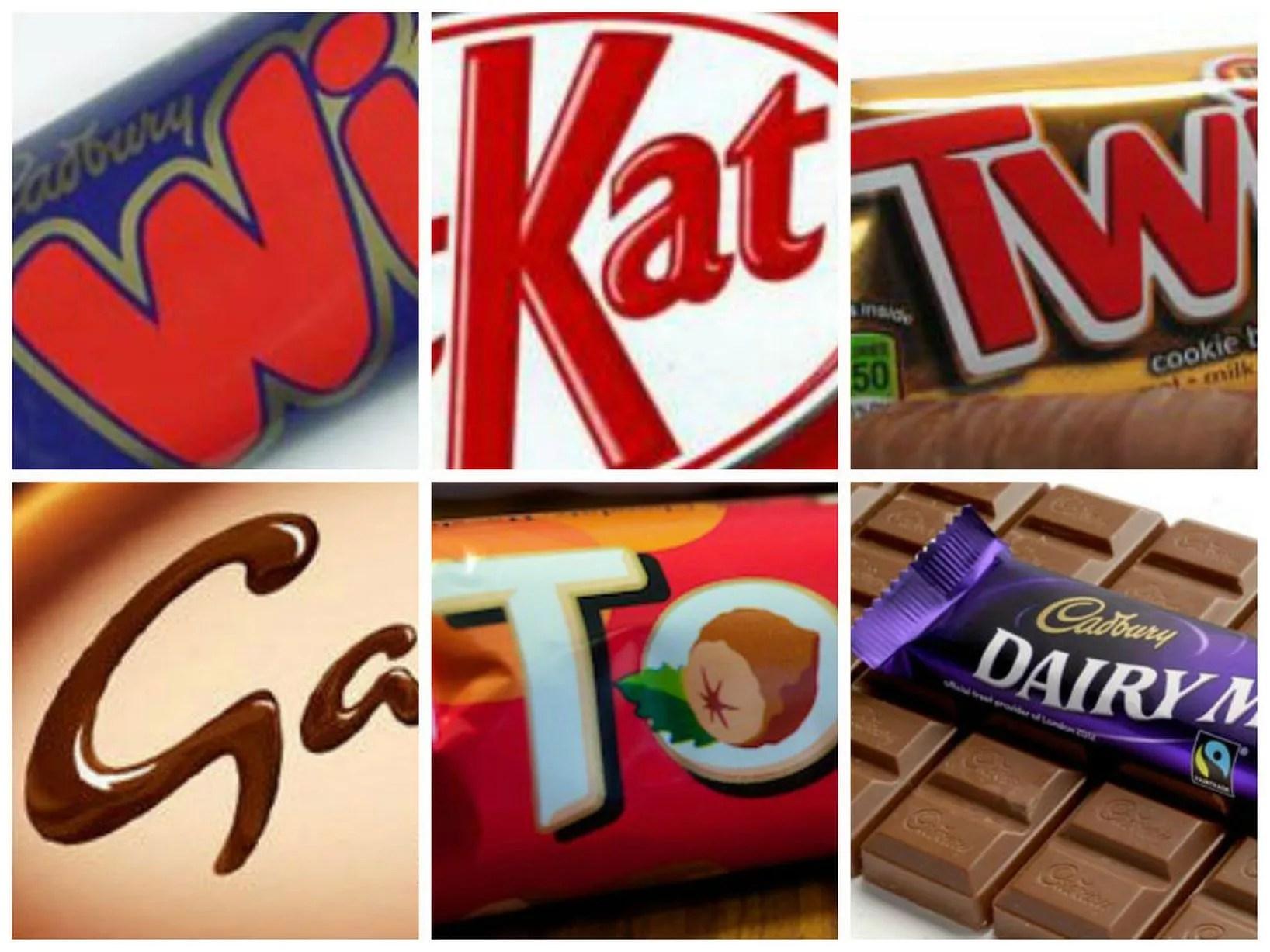 Pictures Of Chocolate Bars Quiz