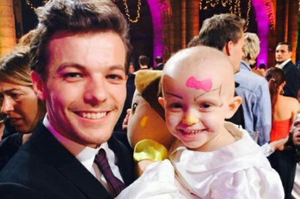 Four-year-old facing second battle with cancer meets her One ...