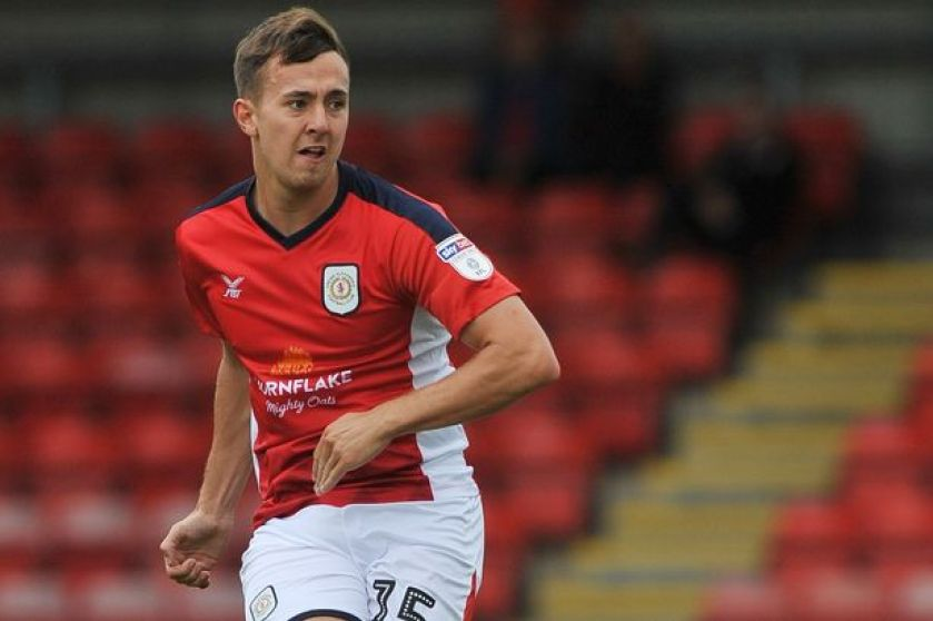 Crewe Alex: Ryan Wintle on a youthful midfield which could 'overrun rivals'  - Cheshire Live