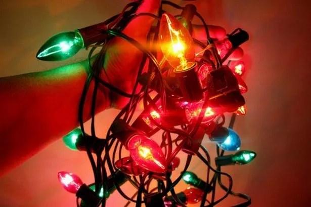 Tesco Christmas Tree Lights
