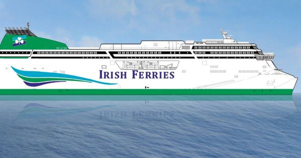 Irish Ferries to build world's largest cruise ferry for ...