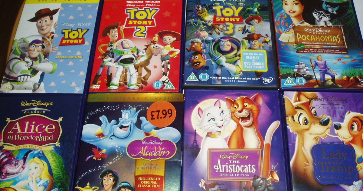 The Old Disney DVDs Being Snapped Up By Collectors North