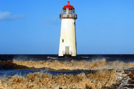 Police stopped 2,500 cars in the region last week, one visitor from Wigan was sent on alert after saying he wanted to visit the Talacre lighthouse.
