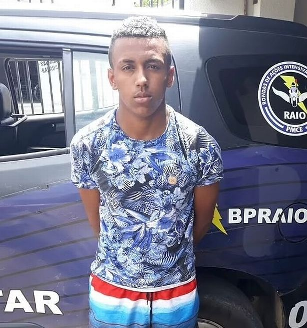 Mateus Abreu is only 17 - but has a long list of prior offences