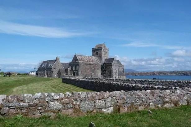 The beautiful Iona Abbey