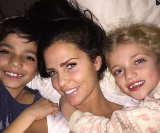 Katie Price shares touching pictures of her adorable ...