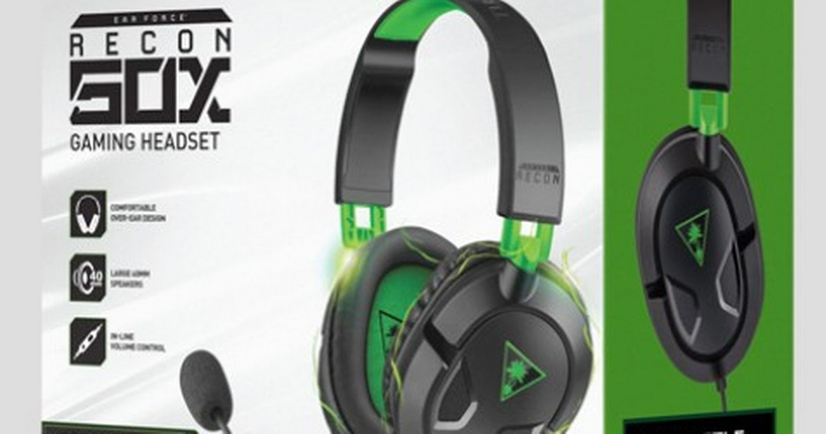 Review Turtle Beach EAR FORCE Recon 50X Gaming Headset