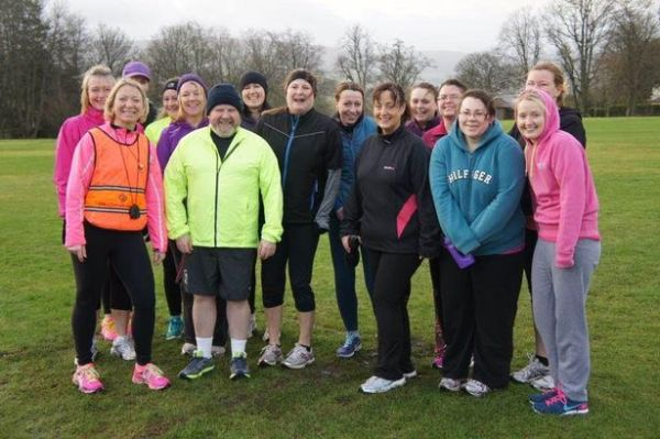 Early morning exercise for new Auchterarder fitness group ...