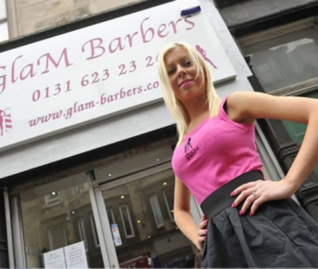 Woman Opens Hooters Of Hairdressing In Edinburgh