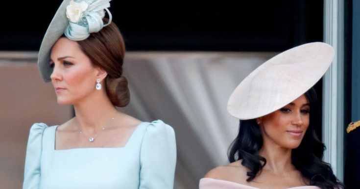 Meghan Markle left Kate 'upset' with 'foot-stamping rant' at royal staff