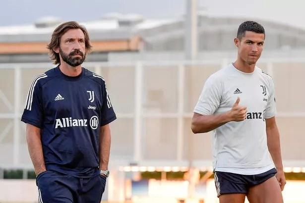 Zinedine Zidane 'could reunite with Cristiano Ronaldo' as Andrea Pirlo faces Juventus sack - Mirror Online
