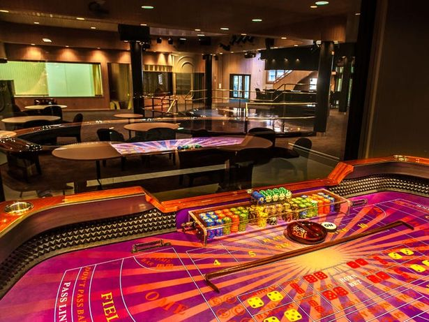 The property also has it's own games room with poker and roulette tables