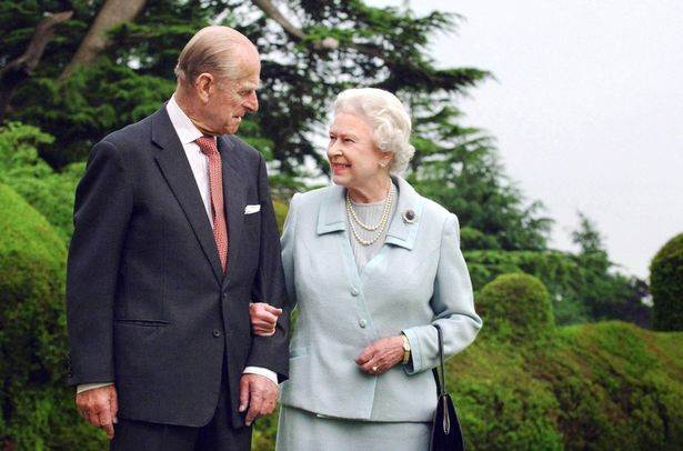 The Queen and Prince Philip back in November 2007