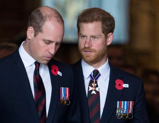 Harry and William will be reunited at next Saturday's service