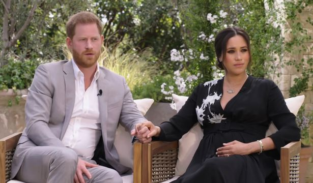 Interview of Prince Harry and Meghan Markle on the Oprah Winfrey show.