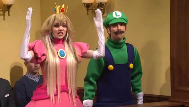 Singer and Musk's partner Grimes made a cameo appearance on SNL as Princess Peach.