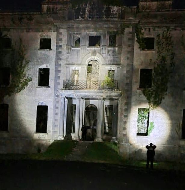 The site is believed by some to be haunted
