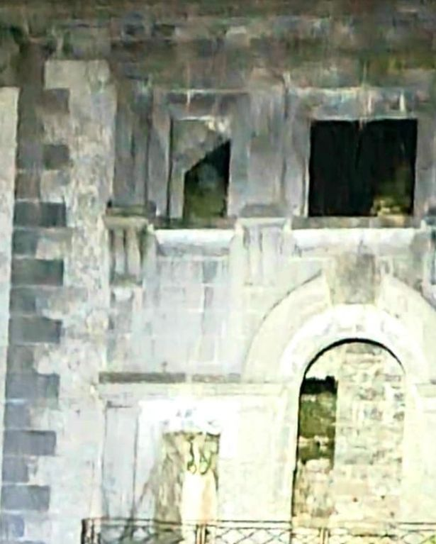 Paranormal Supernatural Investigation's Ireland captured the eerie figure by a window
