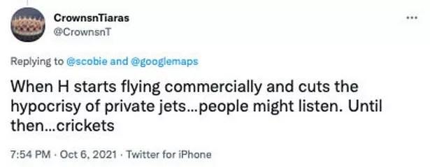Twitter comment