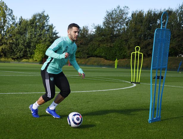 Jack Wilshere has returned to train with Arsenal in a bid to keep up his fitness